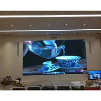 Indoor electronic led display video wall / HD advertising led tv / P2.5 P3 P4