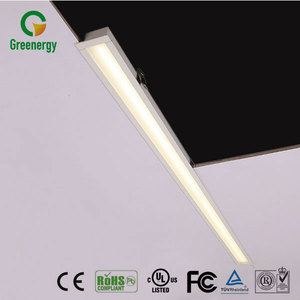 2017 New Design Samsung SMD 36W 2895lm Aluminum 8ft led tube light fixture led recessed linear light