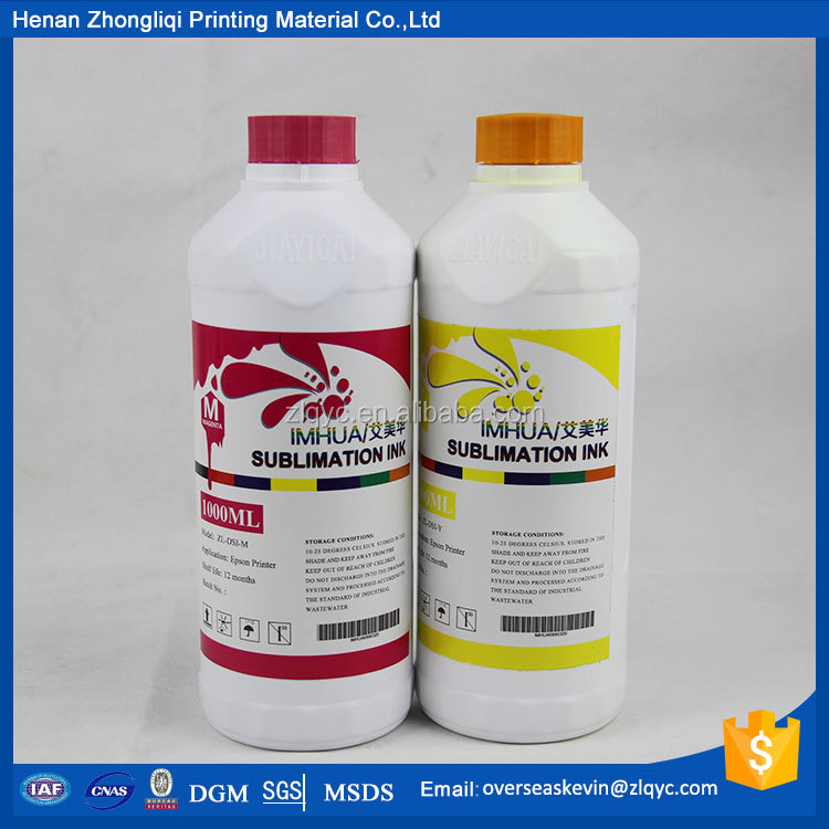 heat transfer sublimation digital ink for Epson 7800 printer