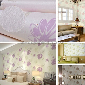 Hot Sale Home Decor Flower Wallpaper For The Walls With Butterflies