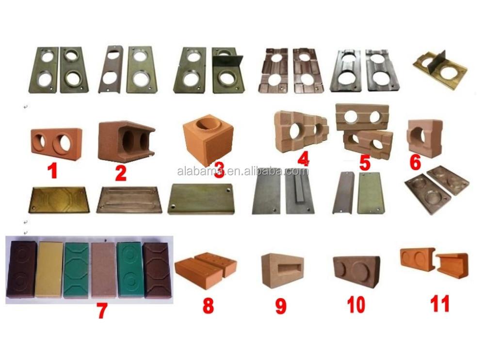 manual interlocking brick making machine