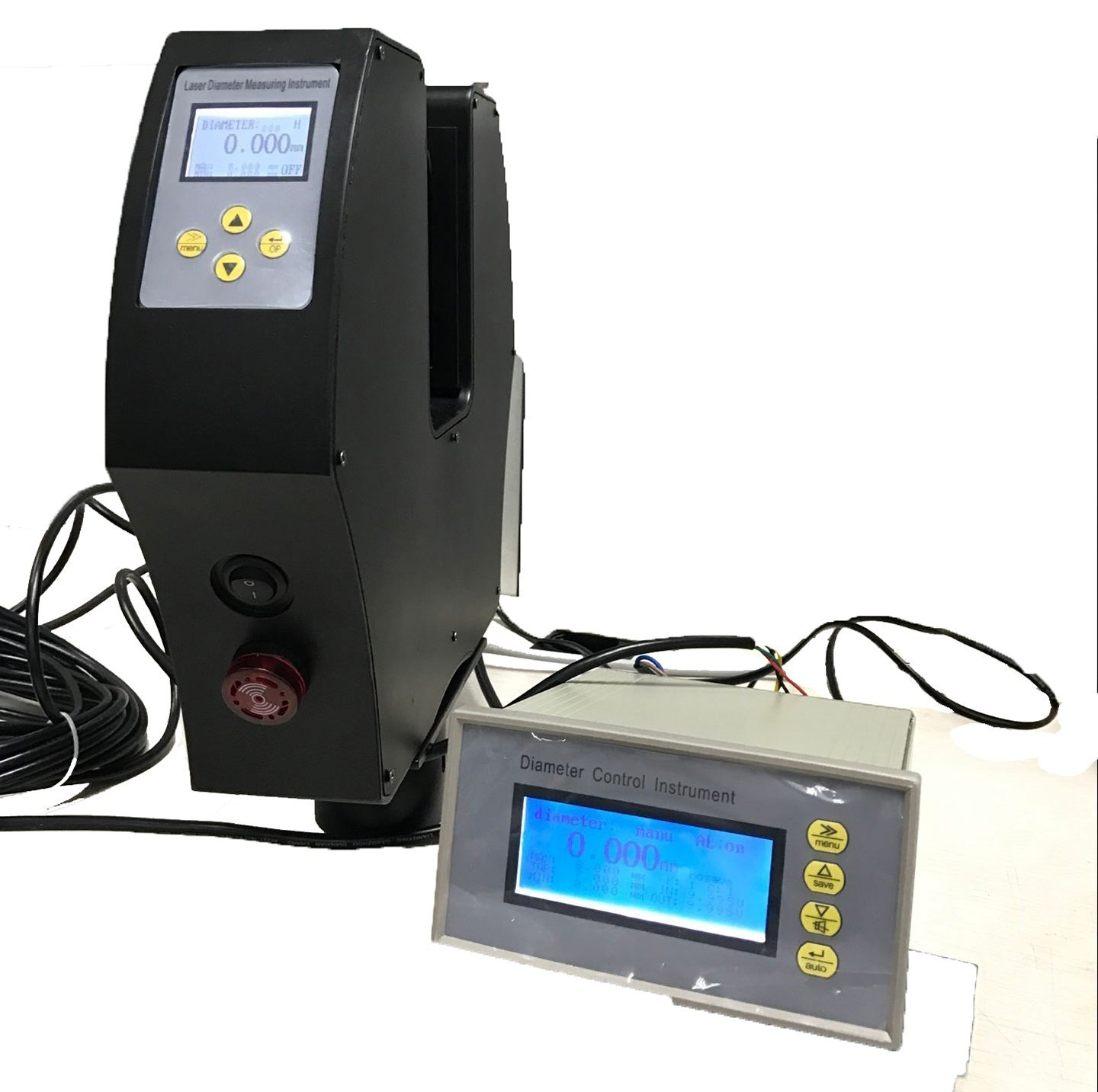 VETUS INSTRUMENTS ETB-05B Non-contact Laser Diameter Measurement Meter Tester Laser Diameter Gauge 0.2 to 30mm Laser Diameter Measuring Instrument Sensitivity 1um Accuracy ±2um Without the Tripod