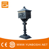 European Style Cast Aluminum Mailbox for High Quality