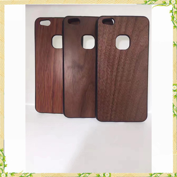 New arrival hot sale walnut wood phone case for Huawei P10 Lite