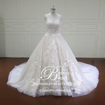 Xf16022 Strapless Floor Length Ball Gown Wedding Dress Halter ...