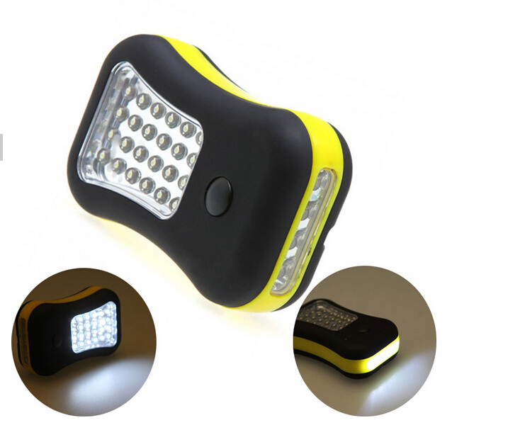 Outdoor Camping Hanging 24+4 Led Mini Super Bright Portable Magnetic Base Led Work Light