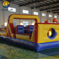 2017 new design adult land inflatable obstacle course sport game inflatable obstacle course equipment for kids