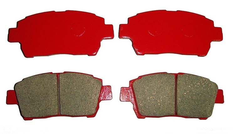 Break Pad High Quality noiselessly Car Parts Brake Pad avaliable for Audi, BMW and other Cars