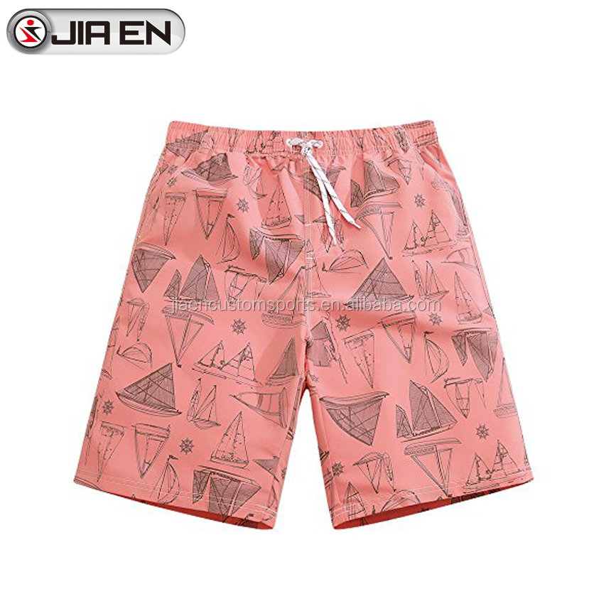Bespoke swimwear & beachwear men 100% nylon swim brief board shorts fabric 4 way stretch board shorts