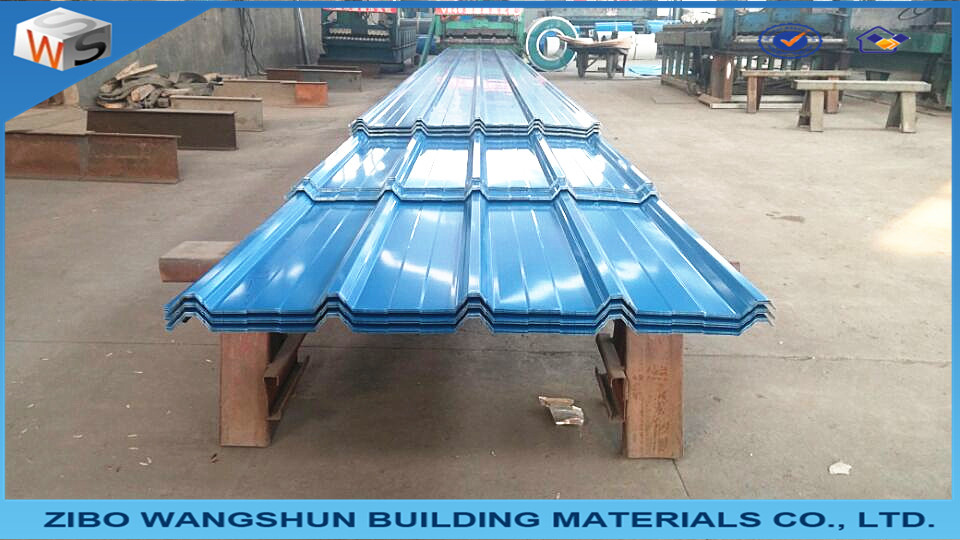 Steel Roofing Sheets Cladding Box Profile