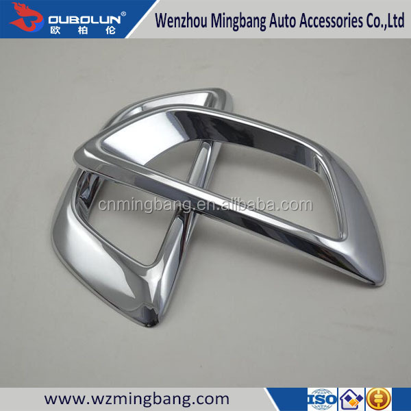 Wholesale Chrome Front Foglight Fogliamp Cover For Sportage 2015 Car Body Kit Accessories