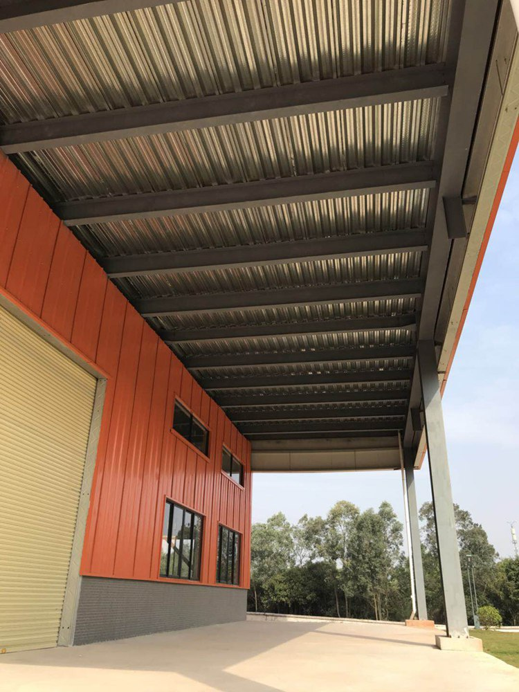 Practical light steel structure building for farm