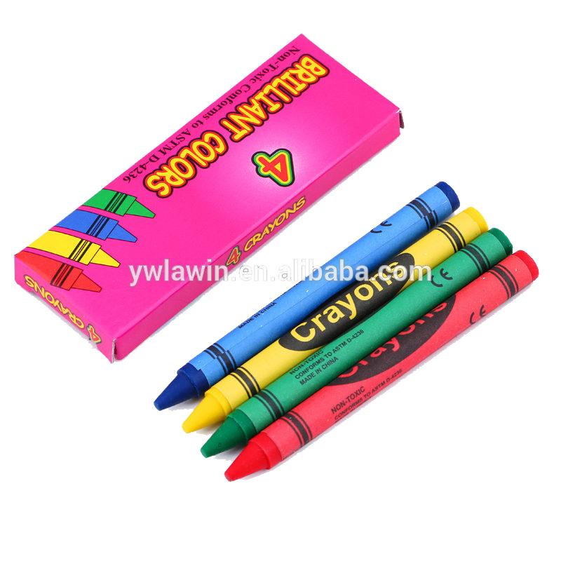12สีที่มีคุณภาพดีรอบคอลัมน์พาสน้ำมันสำหรับเด็ก