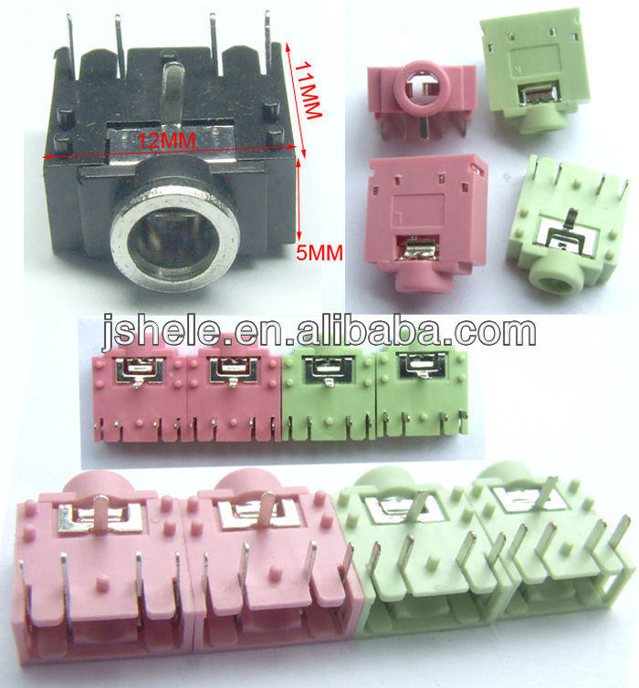 3 x 3.5mm Enclosed Socket Free Shipping