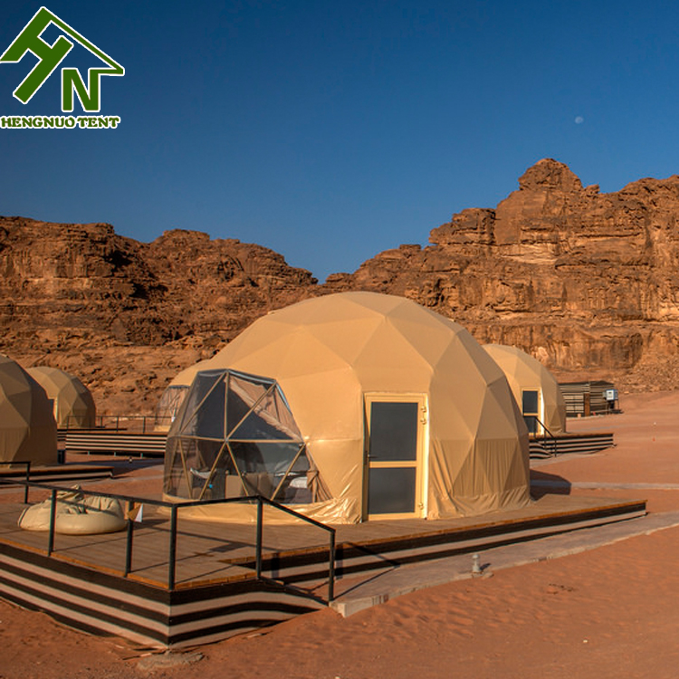 Safari Dome Luxury Canvas Glamping Tents from Glamping Tent Manufacturers