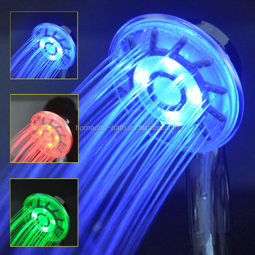 RGB changing Hand Shower Head