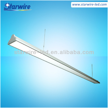 36w Commercial Indoor Suspended Led Linear Pendant Light