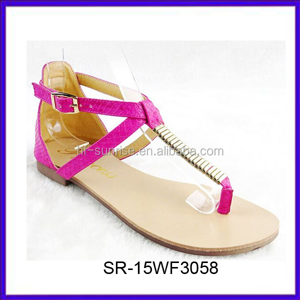 New Stylish Flat Ladies Fancy Sandal Nice Design Ladies Sandals ...