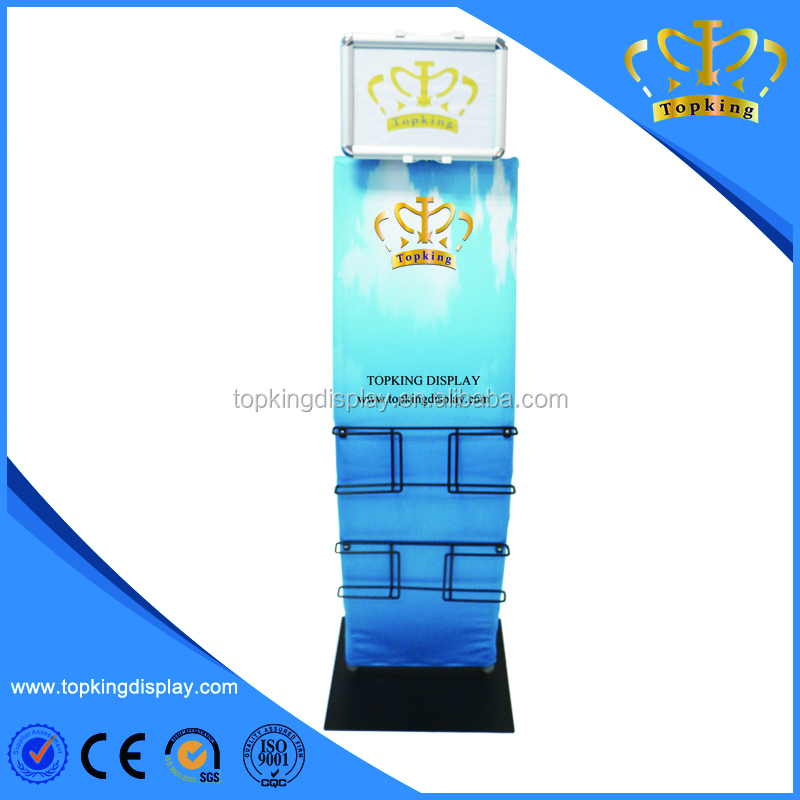 aluminum tension fabric exhbition stand