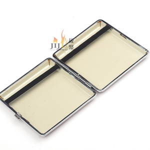 JL-084N Yiwu Jiju Novelty Cigarette Case With Lighter Windproof Lighter,Paper Cigarette Case,Metal Cigarette Case With Lighter