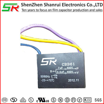 top class heat resisting cbb61 ceiling fan capacitor 3 wire 3 5uf rh alibaba com 3 Speed Fan Switch Wiring 3 Speed Fan Switch Wiring