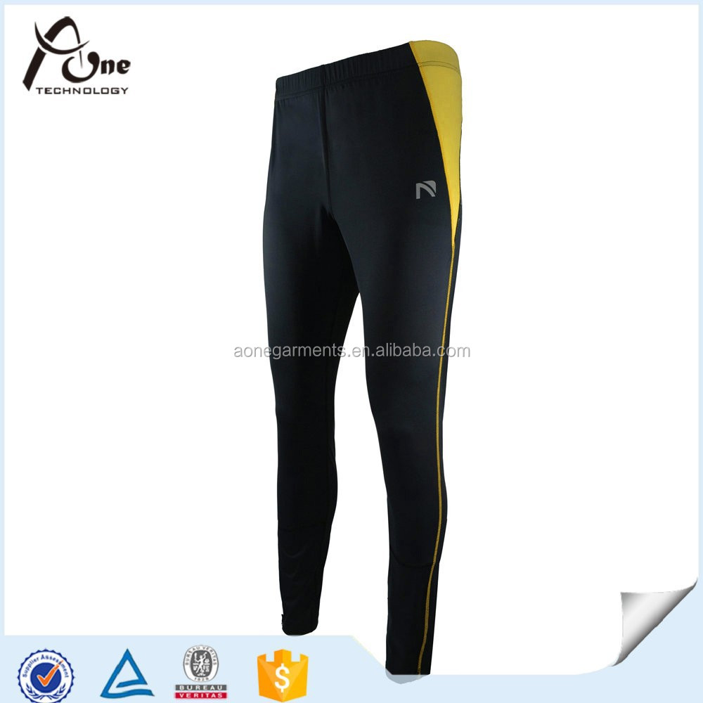 China Custom Men Compression Tights For Fitness