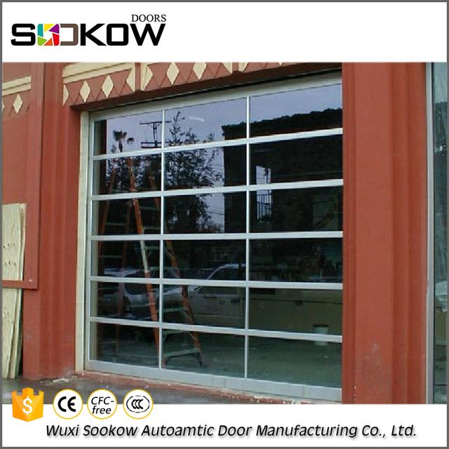 Solid Glass Panel Interior Door