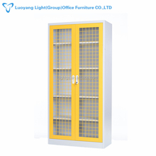 OEM customized best selling single color Swing Mesh Doors File cabinet