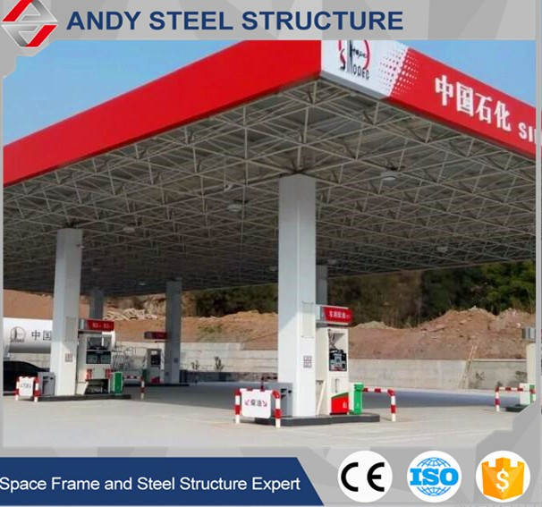 Steel building gas station canopy design & Steel Building Gas Station Canopy Design - Buy Gas Station ...