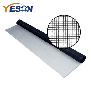 Black aluminum wire mesh invisible fly screen roller mosquito for door and window screens