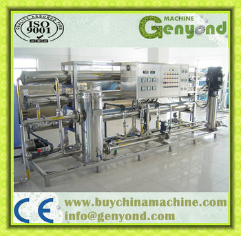 bottled water production machine
