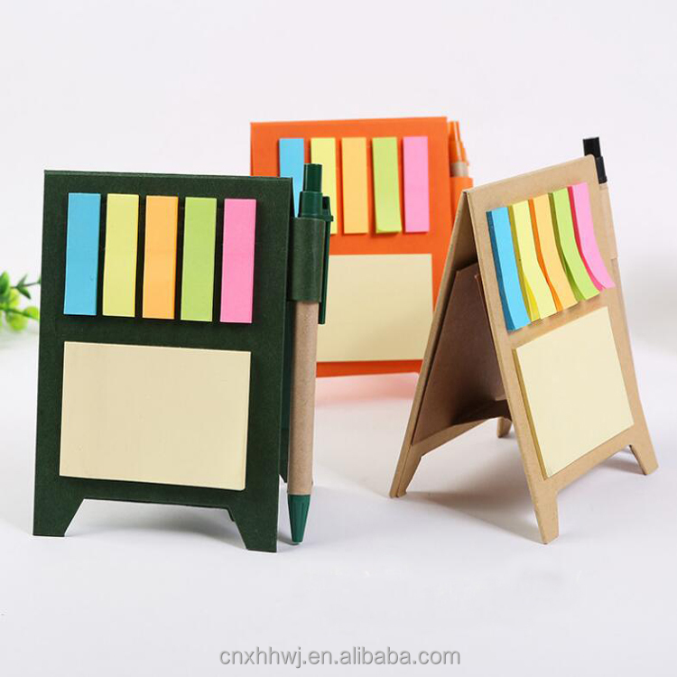 Promotion Sticky Note, Sticky Note Pad with pen,Sticky Memo Pad with pen set