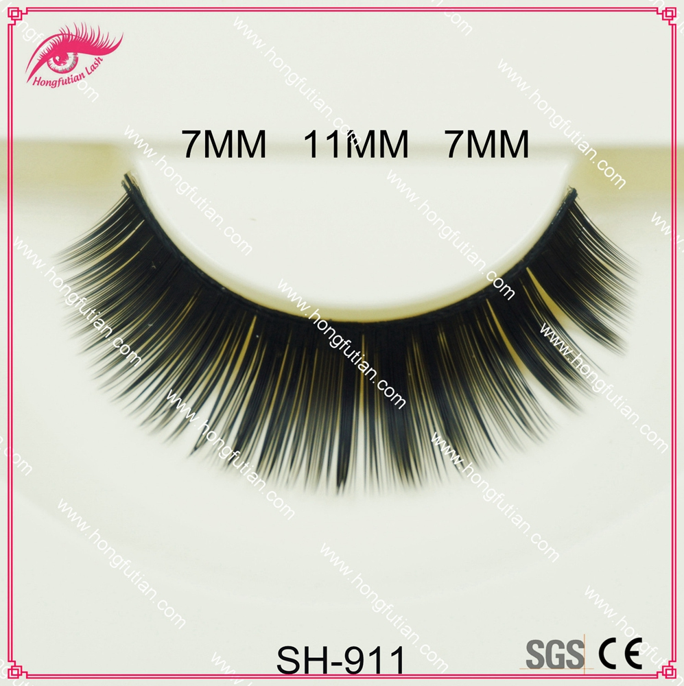 korea natural false lash synthetic eyelashes 100% handicraft best fox lashes