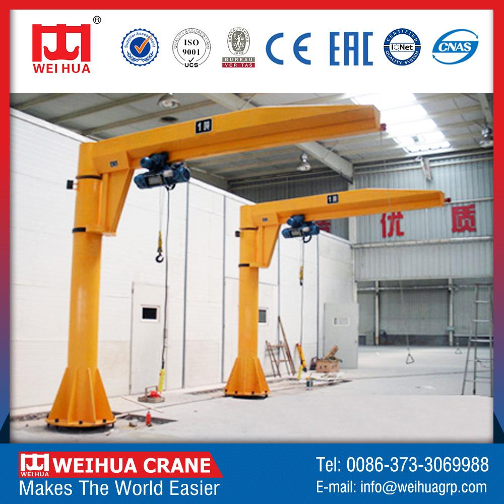 Professional high efficiency rotating hanging beam crane for Motorized rotating crane hook