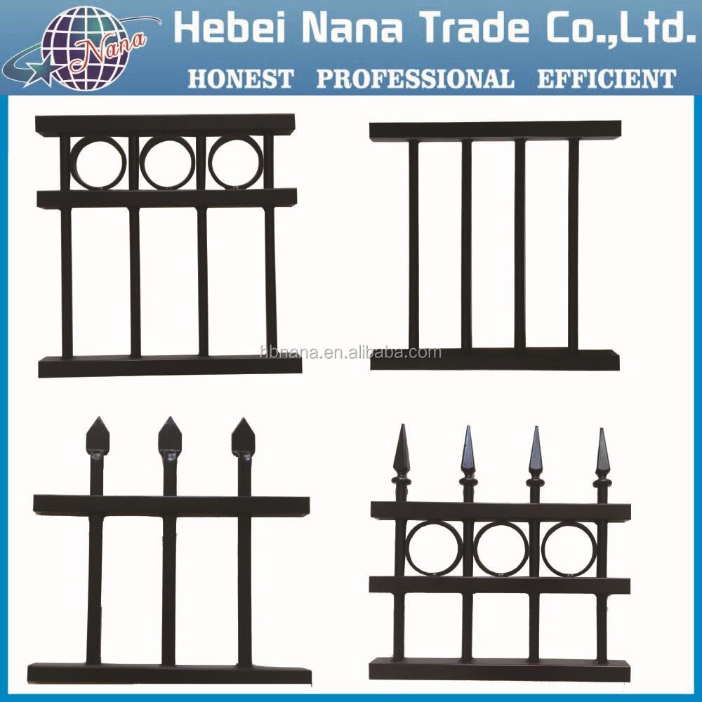 Euro Hot Sale Garden Metal Fence  Indian House Main Gate Designs - Garden gate for sale