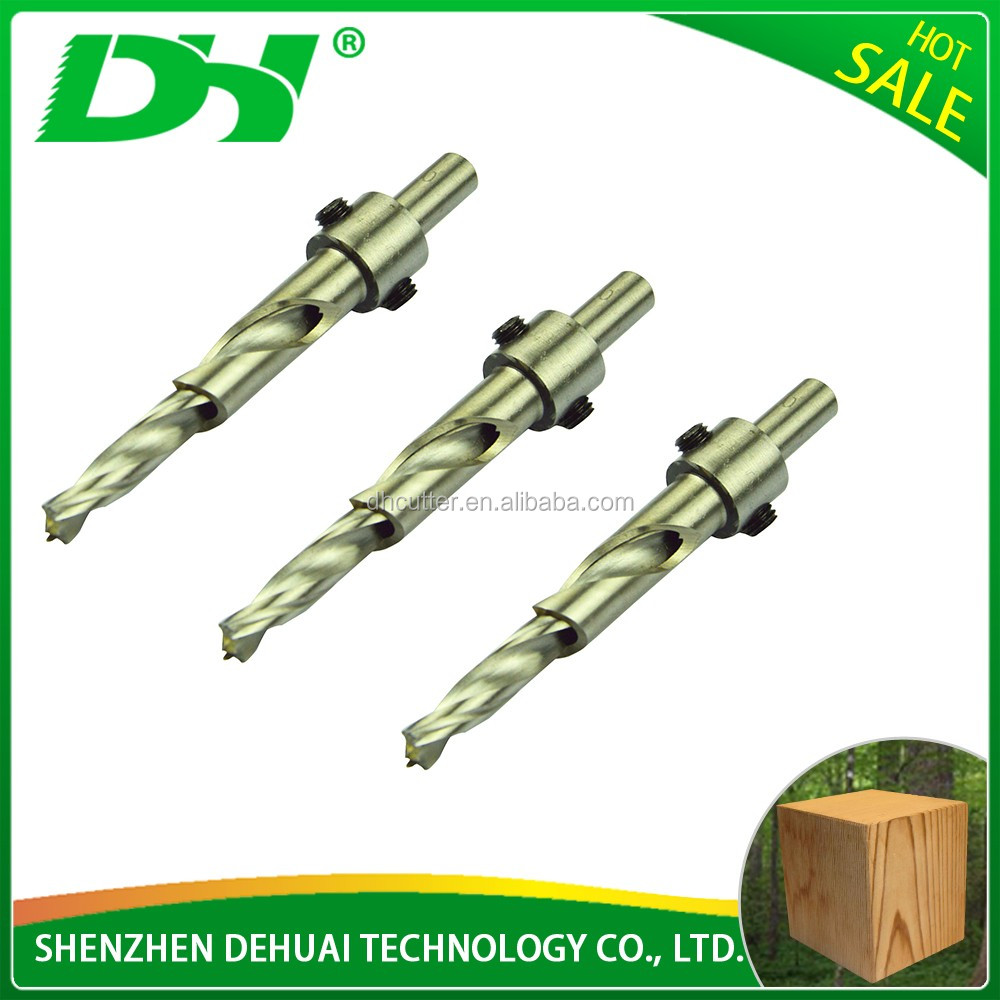 Rock drilling tools square hole hss drill bits for wood