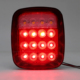 LED Tail Light Assembly Right & Left Auto Led Lights for 76-06 Jeep CJ/Wrangler YJ/TJ Rear Lamp 12V Led Tail Lamp with Running