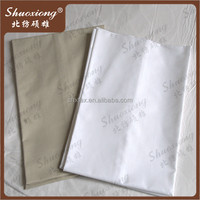 High quality low price white 60 inch wide fabric