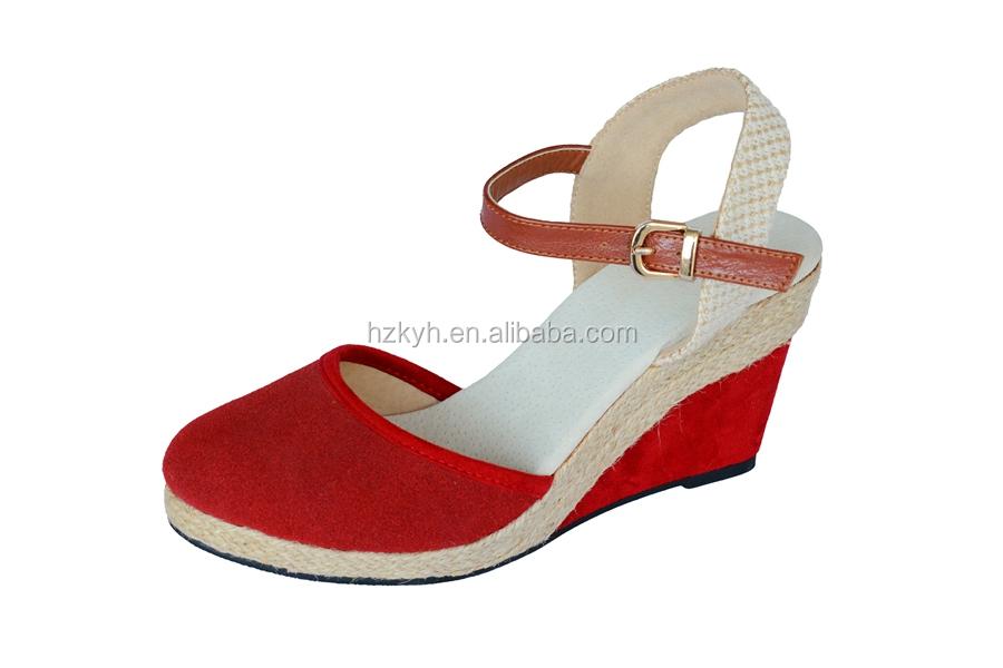 28e18dff379b Custom Logo Ladies Fancy High Heel Wedge Sandals Shoes 2017 - Buy Wedge  Shoes