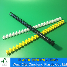 6-51MM Size For A4 Book Binding Plastic Comb Binding Spiral