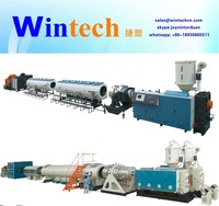 hdpe pvc pipe extrusion machine/line/Plastic PVC electric conduit pipe making machine