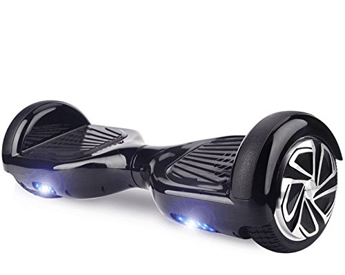 "Hoverboard UL 2272 Certified 6.5"" Self Balancing Wheel Electric Scooter with LED Light- Black"