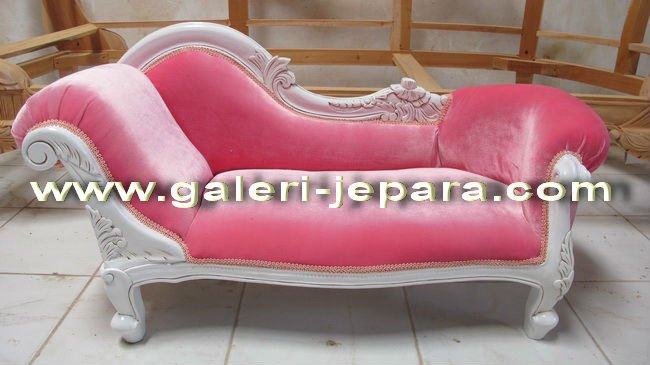 Pink Chaise Lounge - Children Sofa Furniture - Kids Sofa - Sofa for Kids