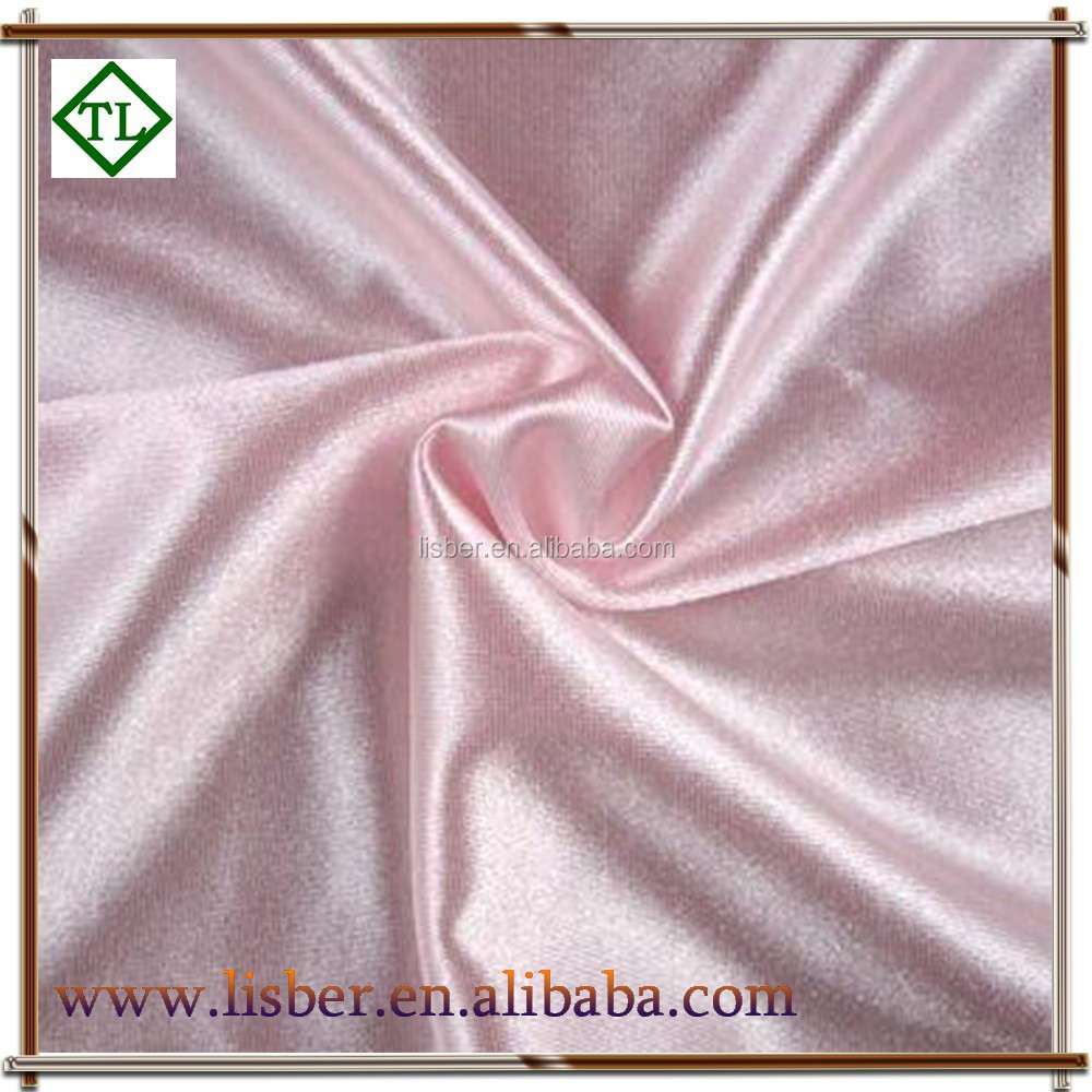 Cheap Polyester Man Made Silk Polyester Satin Fabric For Ribbon ... d9fc535f6