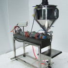 one-head Pneumatic Grease Filling Machine with heater, agitator and table (filling machine for gel, butter, cream