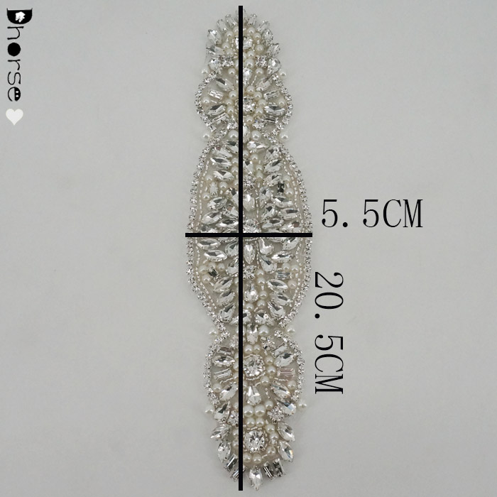 Wholesale Crystal Wedding Dress Rhinestone Appliques