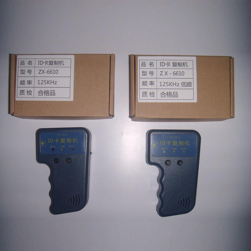 Ручной портативный 125 кГц RFID дубликатор копир копия писатель , пригодный для EM4100 EM4305 карты бесплатная доставка