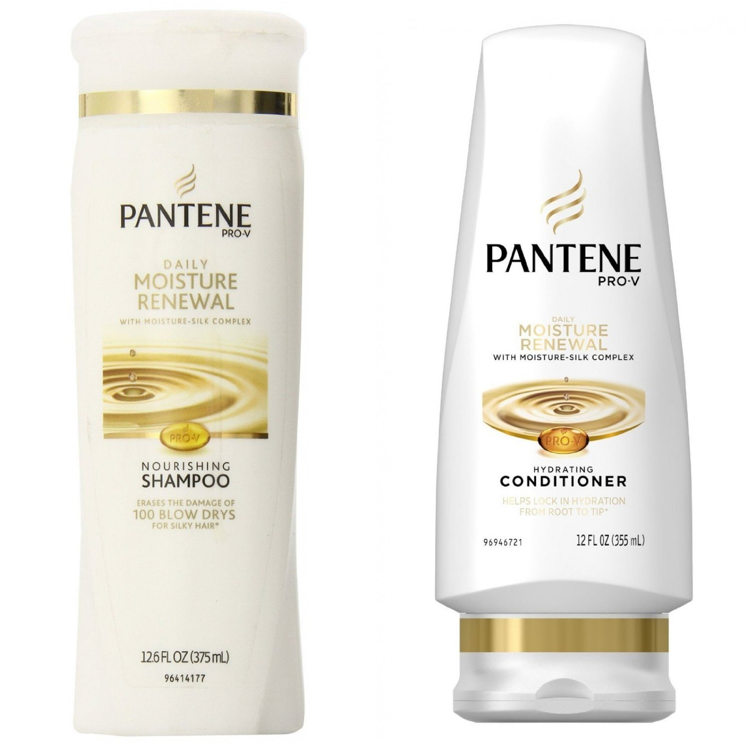 Pantene Pro-V Daily Moisture Renewal Hydrating Shampoo and Conditioner Dual Pack, 1.73 Pound