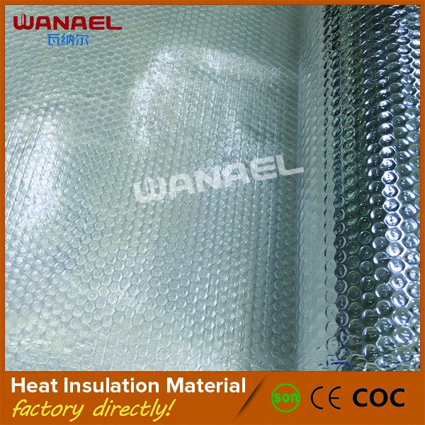 Guangzhou supplier light weight ceiling aluminum heat insulation foil foam