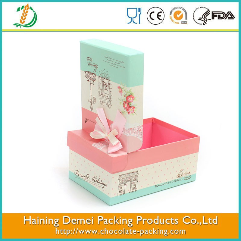 Custom Cute Gift Box Baby Decorative Empty Small Packaging